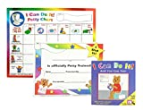 "Kenson Kids ""I Can Do It!"" Potty Chart Updated Toilet Training System! Includes Colorful Magnetic Chart, 30 Positive-Reinforcement Stars, Potty Training Book, Achievement Certificate, and Training Tips for Parents Reviews"