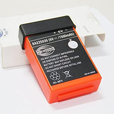 BA225030 Rechargeable battery 225030 6V remote control battery NI-MH Nickel metal hydride Pump truck (1500mah) 4332754438