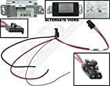 APDTY 112822 Blower Motor Resistor Speed Control Upgrade Module Auto Temp Control 2003-2009 Hummer H2 04-07 Buick Rainier 2002-2009 Chevrolet Trailblazer or GMC Envoy Olds Bravada 15-80655, 19329838