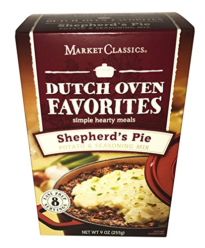 Market Classics Dutch Oven Favorites! Shepard's Pie Potato And Seasoning Mix! Easy To Make And Delicious!