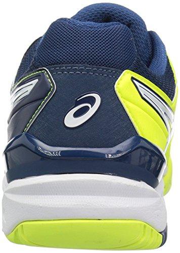 Asics Mens Gel-risoluzione 6 Scarpe Da Tennis Sicurezza Giallo / Bianco / Poseidon