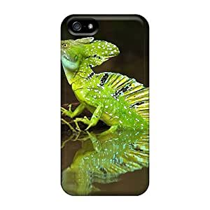 Premium Iphone 5/5s Case - Protective Skin - High Quality For Green Iguana