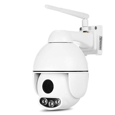HW0054 Exterior 2 Millones 1080P Cámara De Vigilancia WiFi Inalámbrica Visión Nocturna 50 M Cámara De