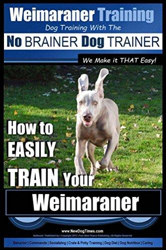 (Weimaraner Training | Dog Training with the No BRAINER Dog TRAINER