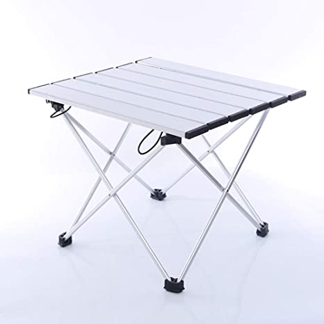 56339b30eb83 Amazon.com : Aobeau Portable Picnic Table, Folding Camping Table ...