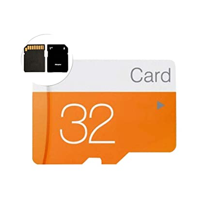 Hongfei Tarjeta de Memoria 32GB Clase 10 con Adaptador TF a ...