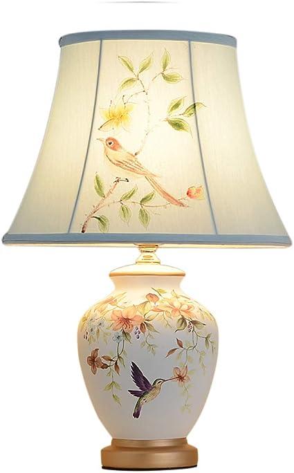 SHENG SHI Lampada da Tavolo in Ceramica, Corpo Lampada