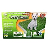 Potty Patch Dog Potty – Replaces Wee Wee Pads – The Best Pet Turf Potty Training Tool – Works for Puppies & Adult Dogs – For Small Dogs Under 15 Lbs
