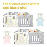 Kidzone Baby Interactive Playpen 8 Panel Safety