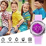 Kids Digital Sport Waterproof Watch for Girls