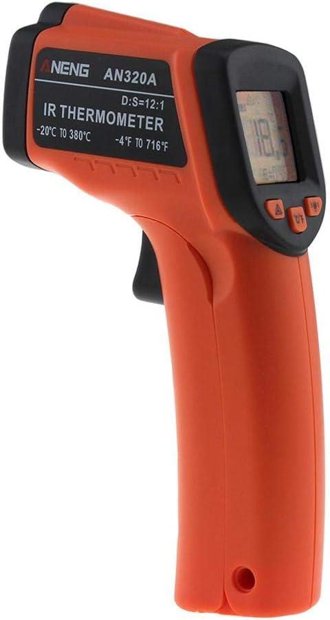 50 ¡ C à Digital Laser Thermomètre LCD 550 est C IR infrarouge température Appareil de mesure