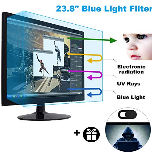 23.8 Inch Universal Anti Glare Monitor Screen Protector Fit 23.8