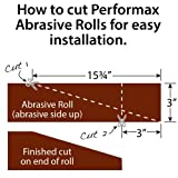 Performax Type Ready-to-Cut Read-to-Wrap Abrasive