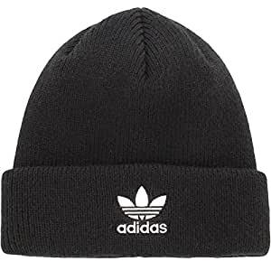 adidas Women's Originals Trefoil Beanie, Black, One Size