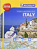 Italy - Tourist and Motoring Atlas 2018 (A4-Spiral) 2018 (Michelin Road Atlases)