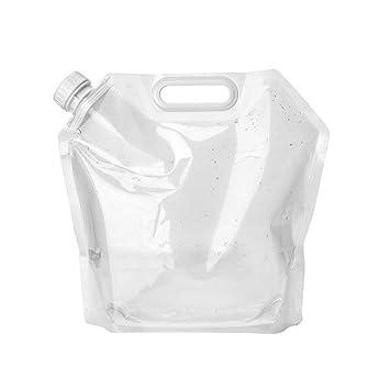 Bolsa de Agua de plástico Plegable de 10 l, tamaño Grande ...