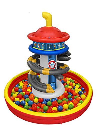 Paw Patrol Lookout Tower Playland With 50 Balls