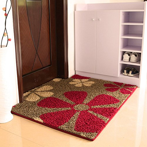 JinYiDian'Shop-(Tür, Bad, Küche Rutschfeste Matte, Fußmatte, Matte, einfach und modern und 100 * 100 Cmk