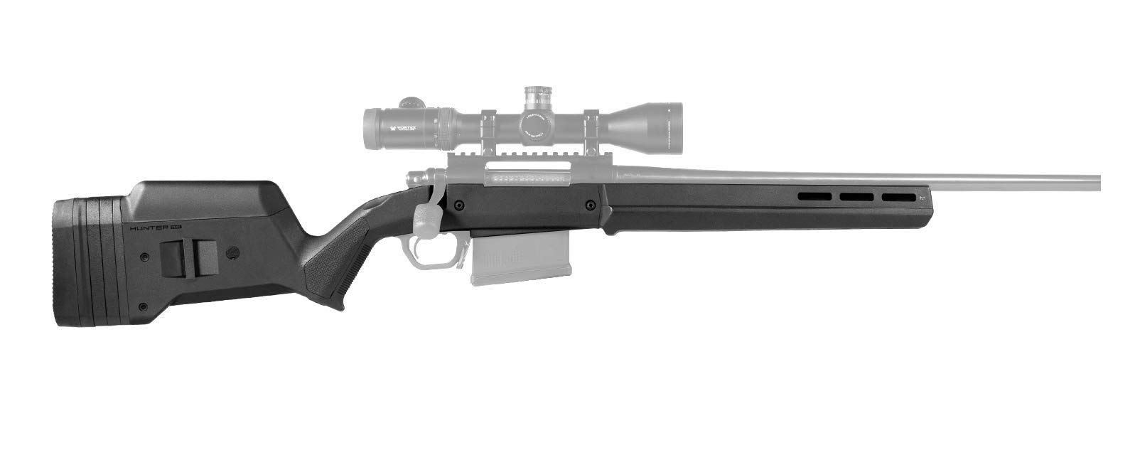 Magpul Hunter 700L Remington 700 Long Action Stock, Black by Magpul