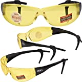 PLAYER - Advanced System Safety Glasses - FREE Rubber EAR LOCKS