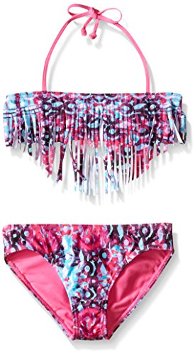 Roxy Big Girls Altered Destination Fringe Set, Sugar Plum, 12