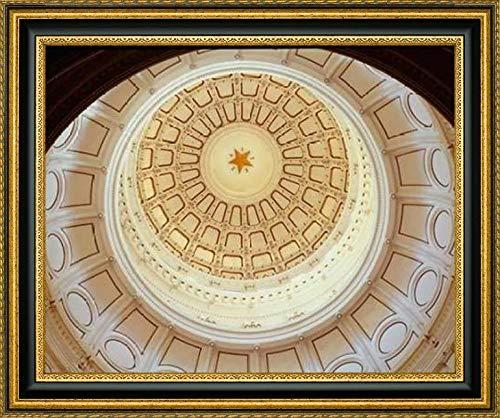 The Texas Capitol Dome, Austin Texas by Carol Highsmith - 23.25