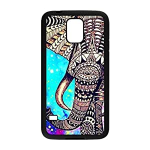 Beautiful flowers elephant Cell Phone Case for Samsung Galaxy S5