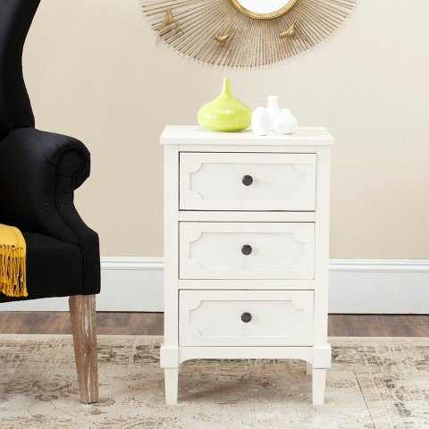 Safavieh American Homes Collection Rosaleen White Side (Louis Side Chair)