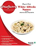 Mealfastrr Italian White Alfredo Cheesy Pasta Sauce Ready to Cook and Eat Food Meal for Chicken Vegetables Fish Prawns Shrimps and Meat Preparation, 300 gms