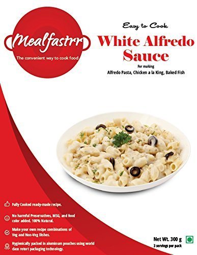 Mealfastrr italian white alfredo cheesy pasta sauce ready to cook mealfastrr italian white alfredo cheesy pasta sauce ready to cook and eat food meal for chicken forumfinder Image collections