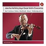 Music : Jascha Heifetz Plays Great Violin Co Ncertos - Sony Classical Masters