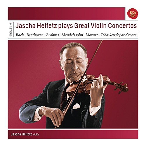 Jascha Heifetz Plays Great Violin Co Ncertos - Sony Classical Masters