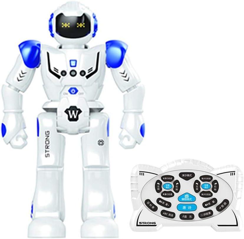 Fasteer Robot USB Carga Danza Gesto Figura de acción de Juguete ...