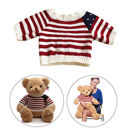 """Girls Store Stuffed Animal Clothing & Accessories Teddy Bear Clothes Fit for 16""""- 45"""" Height Bear, Stuffed Toy Clothes Build-a-Bear, Vermont Teddy Bears Clothes Make Your Own Stuffed Animals"""