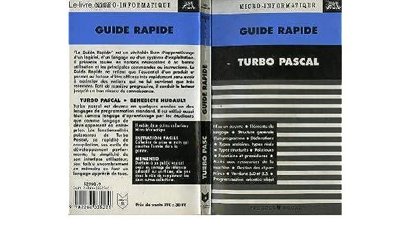 Turbo Pascal (Micropsi): Amazon.es: Bénédicte Hudault: Libros en idiomas extranjeros