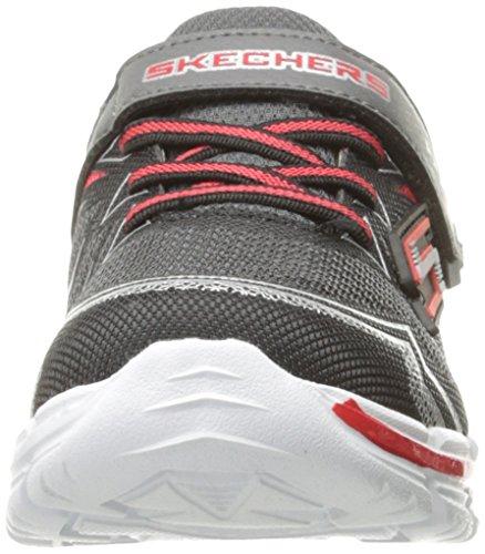 Negro rojo Skechers Bajas De 95358n Deporte ccrd Zapatillas Boy arOa4UnqW