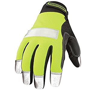 Youngstown Glove 08-3700-10-XL Safety Lime Utility Glove X-Large