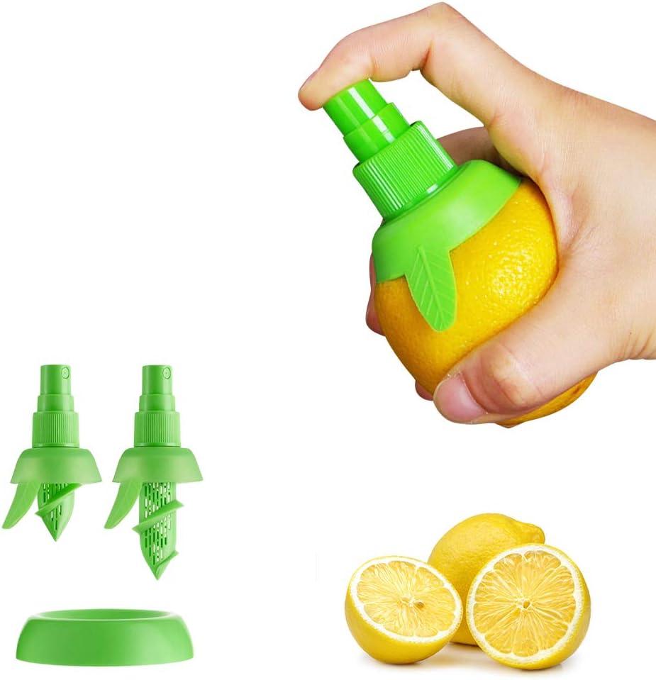 2pcs Lemon Juice Sprayer, Manual Orange Juice Citrus Spray for fresh flavor, Lemon Squeezer for Salad, Kitchen Gadgets
