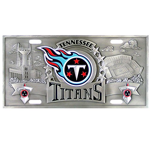 Tennessee Titans NFL 3D License Plate