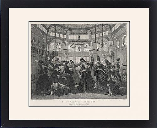 Framed Print Of Islam/whirling Dervishes by Prints Prints Prints