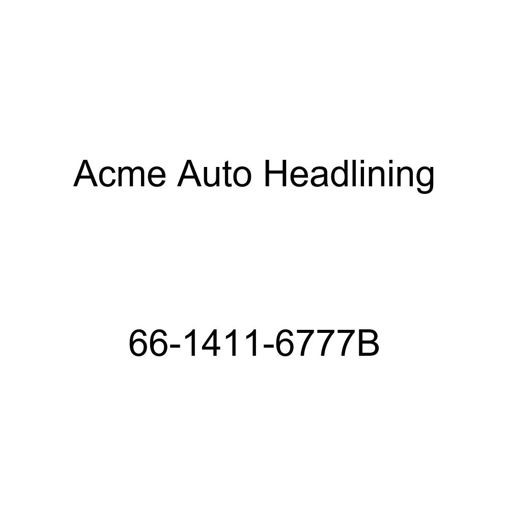 Chevrolet Impala 2 Door Hardtop 5 Bow Acme Auto Headlining 66-1411-6777B Red Replacement Headliner