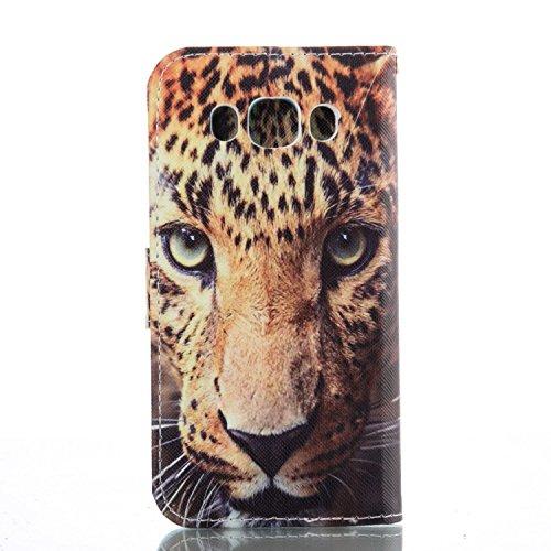ikasus - Cartera de mano con asa para mujer Abstract Watercolor Fish leopardo