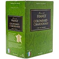 Beau de France Sleeve Vin de France Colombard Chardonnay 5 L - Lot de 3