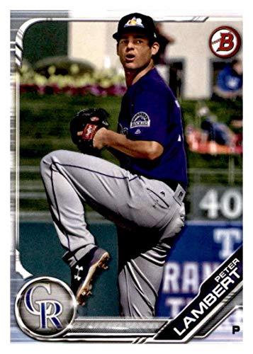2019 Bowman Prospects #BP-136 Peter Lambert RC Rookie Colorado Rockies MLB Baseball Trading Card