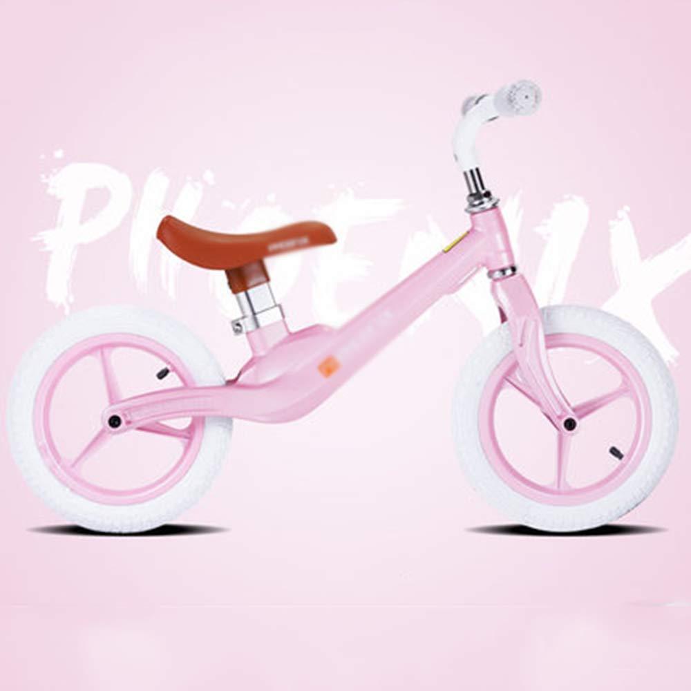 Seggiolino Regolabile Bike Balance per Bambino Leggero Bike Balance - età 2+ Non è Necessario gonfiare (Ruota in gommapiuma)