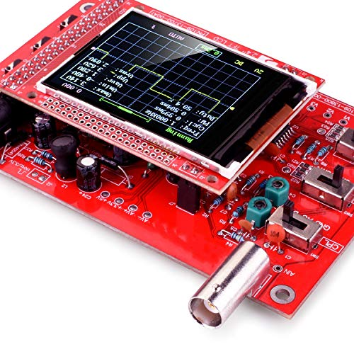 Longruner DSO138 Open Source 2.4 TFT Digital Oscilloscope Kit 1Msps with Probe Assembled Vision 13805K Welded Open Source
