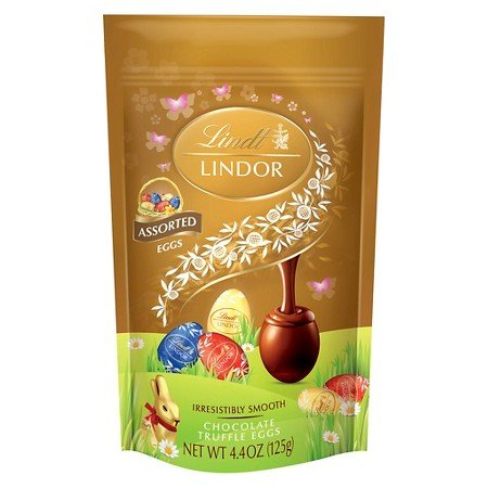 Lindt Lindor Easter Assorted Chocolate Truffle Eggs - 4.4oz