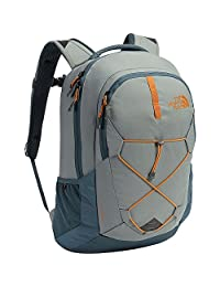 North Face Jester Backpack One Size Sedona Sage Grey Conquer Blue