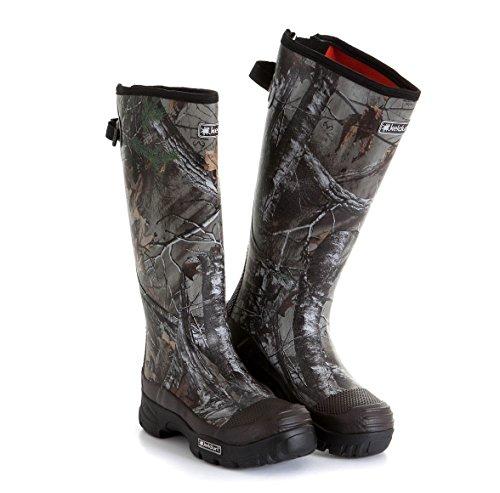 Camouflage Wellington de coffre, Realtree Camouflage Bottes en caoutchouc rigide. Pour le Chasseur dans la boue, la saleté, la Bruyère et Bramble. New à Marché: keldun 'Huntsman-Camouflage Motif Ch