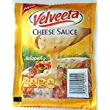 NEW! Velveeta Cheese Sauce with Jalapeño - 4 of 4 oz Packets